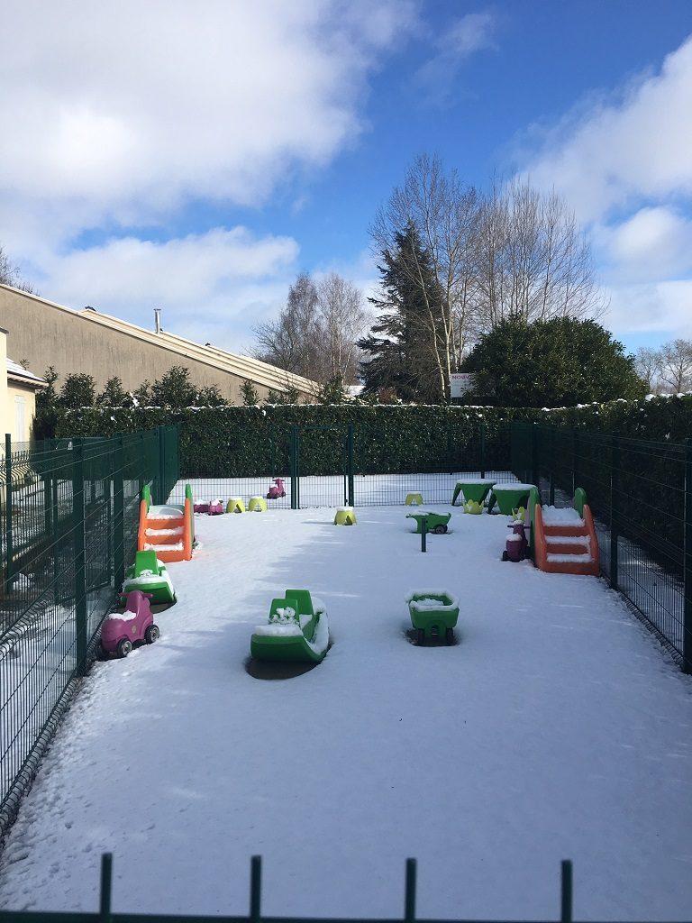 Neige à Bonnelles